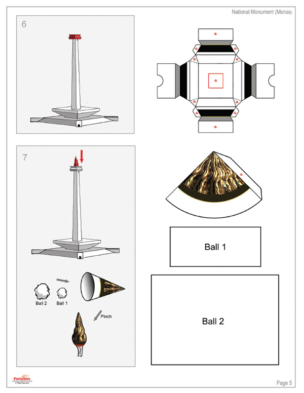 Indonesia National Monument (MONAS) - Free Printable 3D